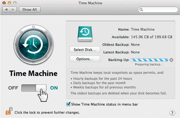 time machine Mac file recovery