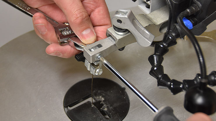 Hacking a Porter Cable Scroll Saw
