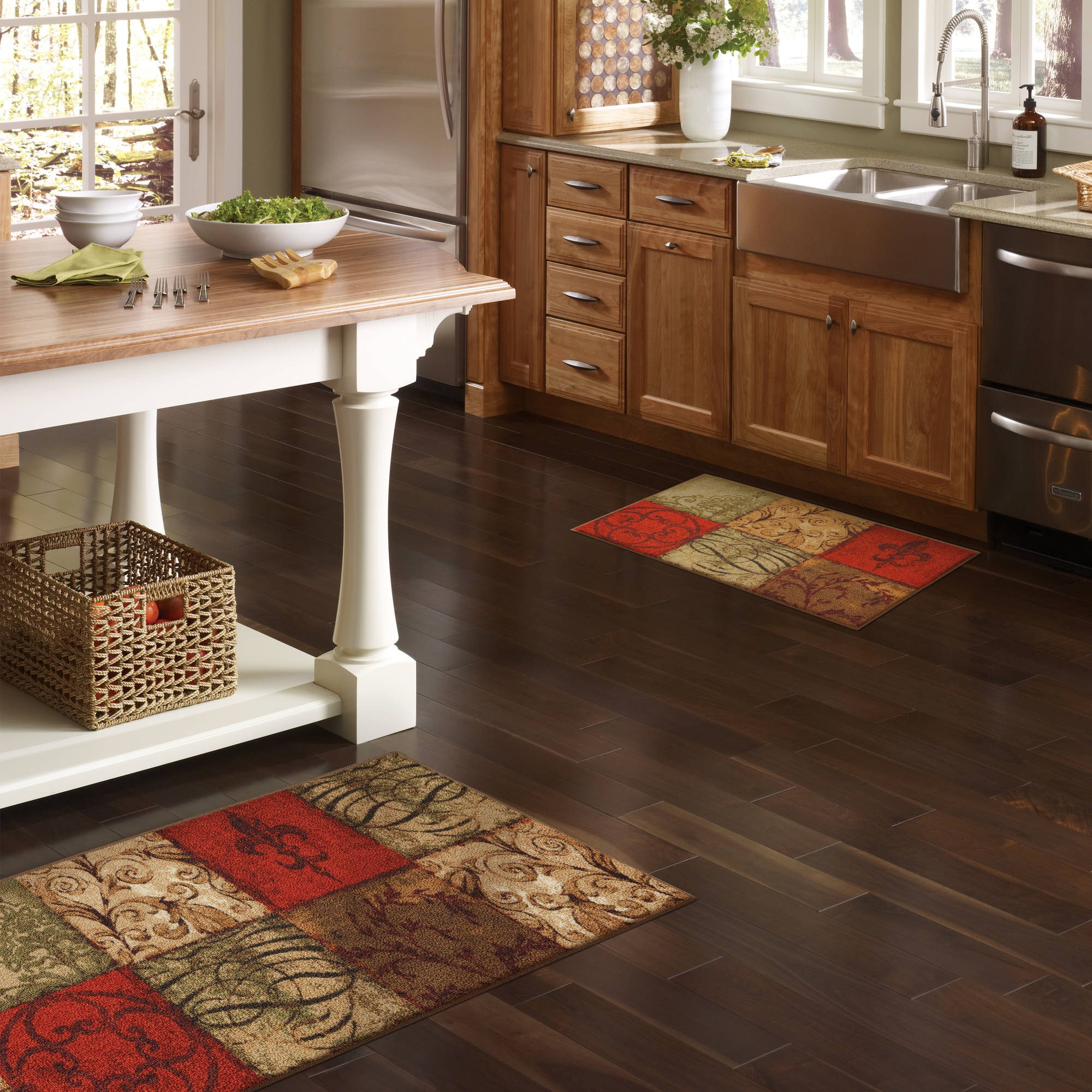 Image of: Kitchen Floor Mats Rugs
