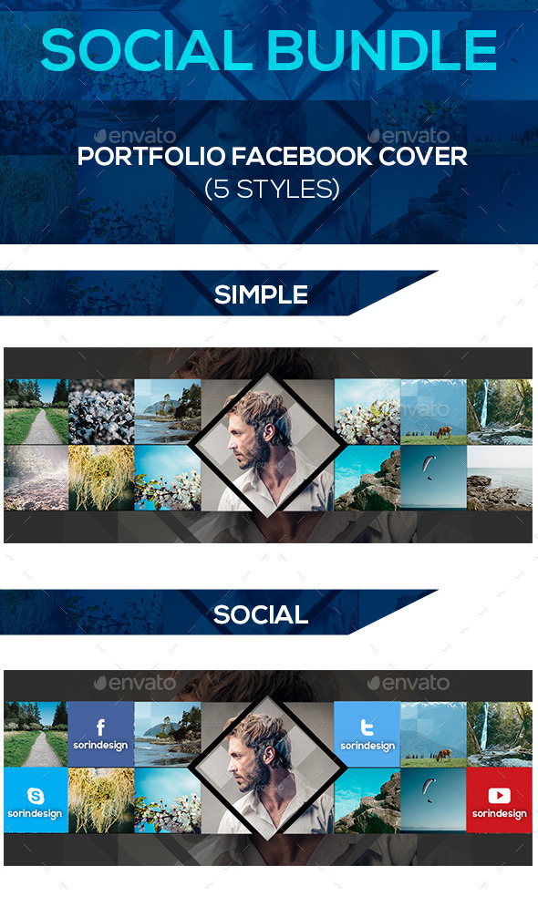 portfolio-social-cover-templates-bundle