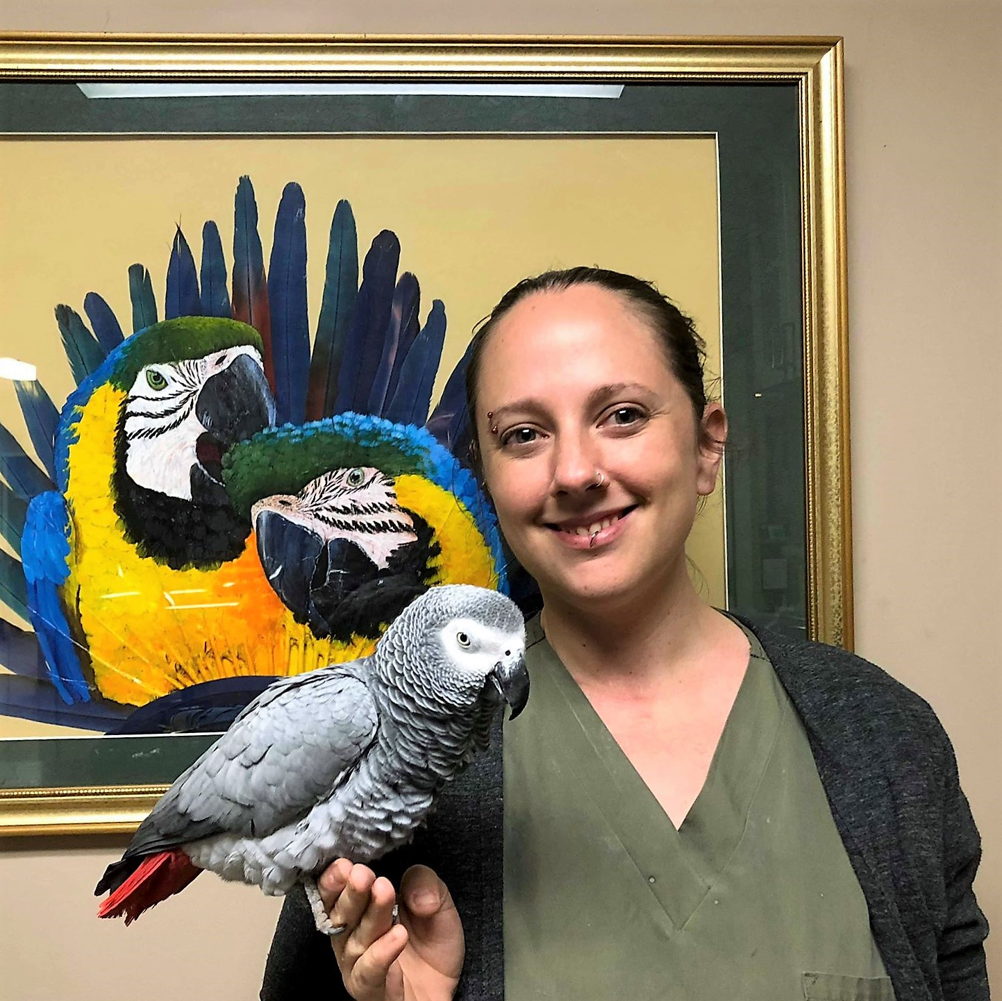 Medical Center for Birds Oakley California - Brandy Nicoll, RVT Manager
