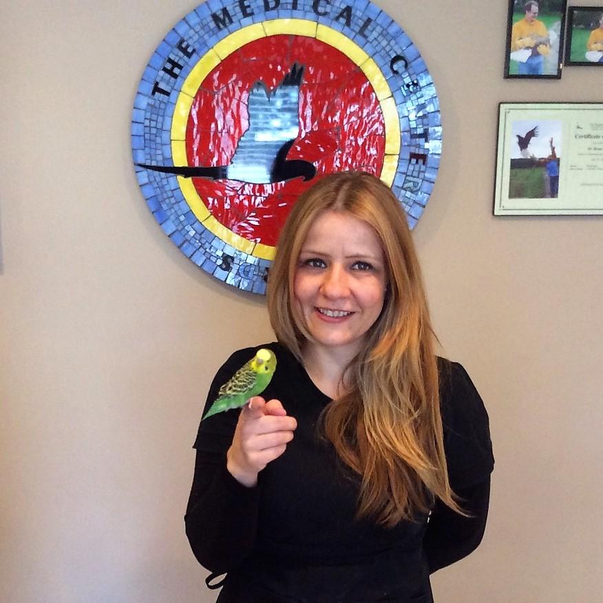 Medical Center For Birds Oakley California - Rita Vasquez, Veterinary Technician