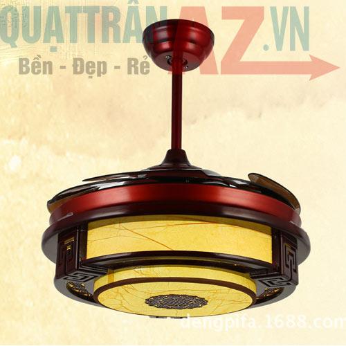 Quạt trần đèn trang trí cao cấp Diamond Hero QAZ-L8630