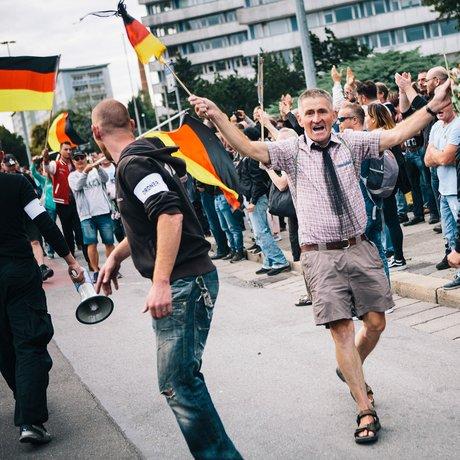 Chemnitz: Und die Polizei schaut zu