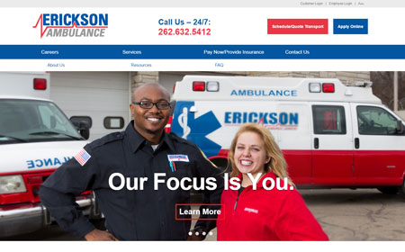 Erickson Ambulance