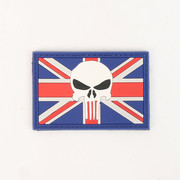Punisher Skull Union Flag Patch