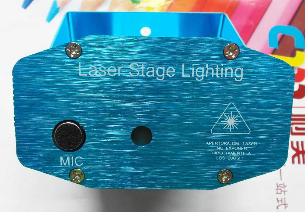 Full Star Mini Laser Stage Lighting Projector for Christmas Hoidays