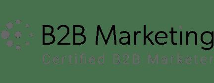 B2B Marketing Certified
