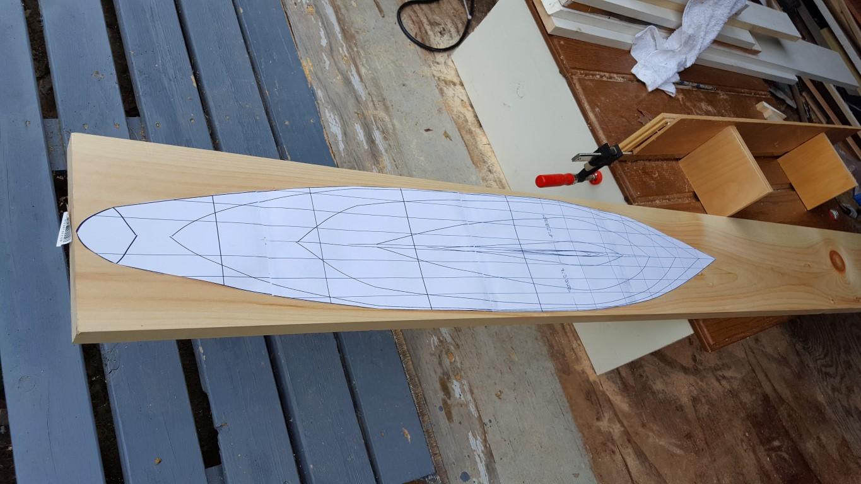 diy rc boat - template