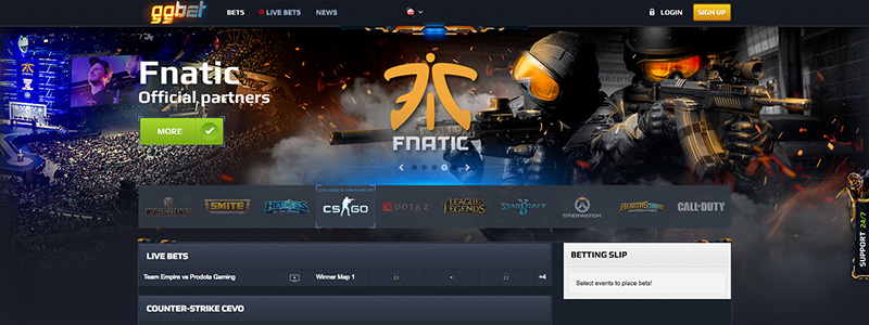 gg.bet Website Functionality Betting