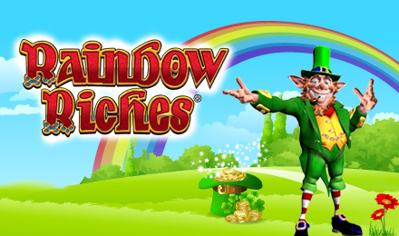 Rainbow Riches Slots logo