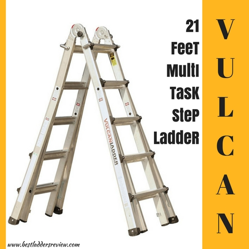 vulcan ES-21T11G1 21-Feet multi-task best selling step ladder
