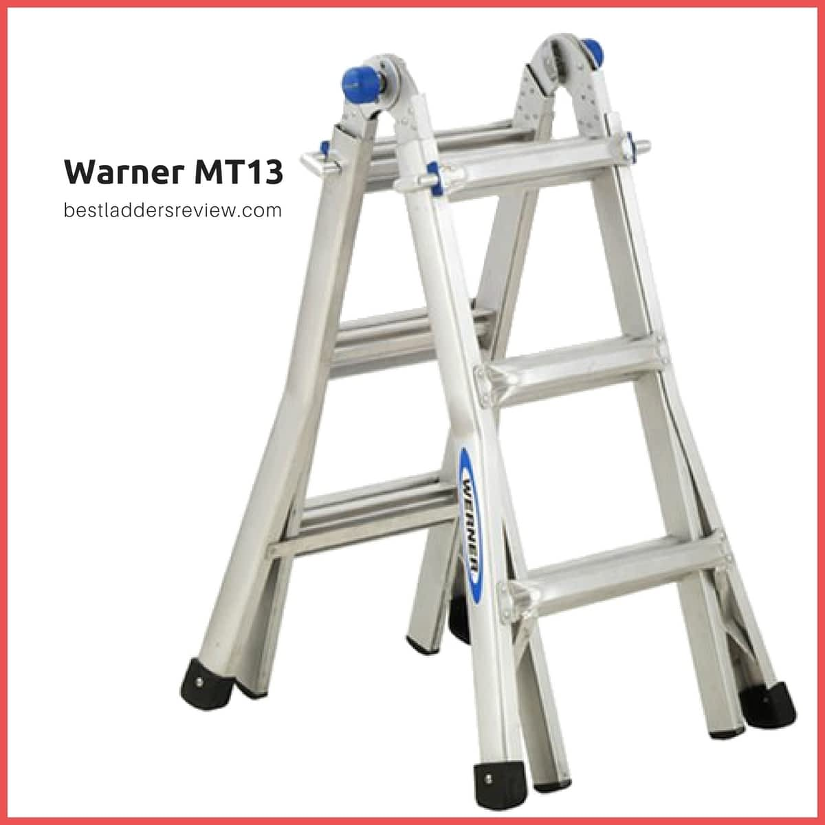 Warner MT13 Best Telescoping Ladders
