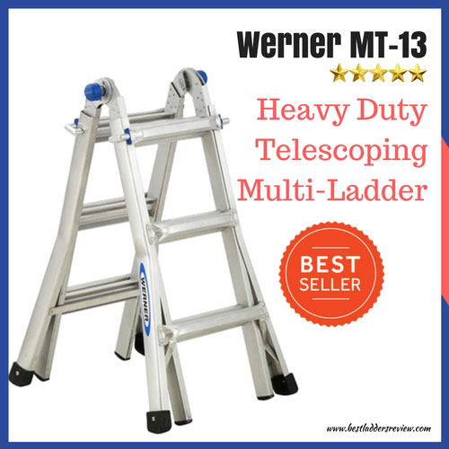 Werner MT-13 13ft Best Telescoping Ladder Review