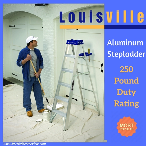 Louisville Ladder Duty Rating Step Ladder | aluminum vs. fiberglass