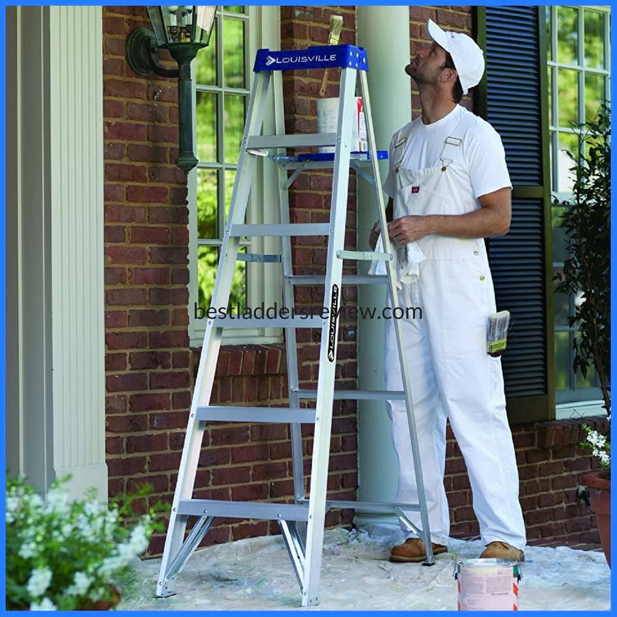 Louisville AS2106 250-Pound Step Ladder