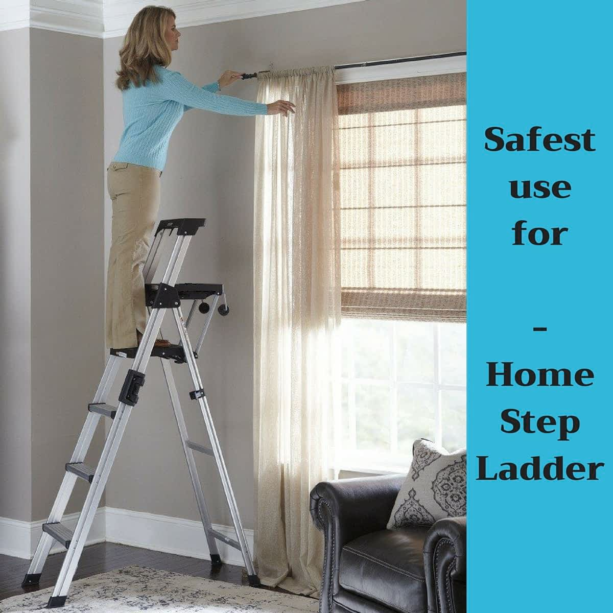Cosco Signature Series Step Ladder | aluminum vs. fiberglass