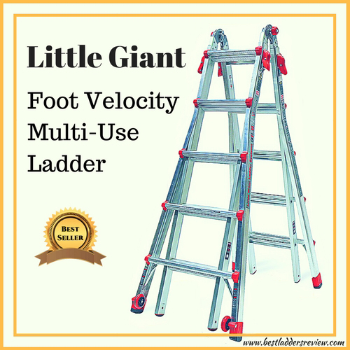 little gaint foot valocity multi-use best selling step ladder