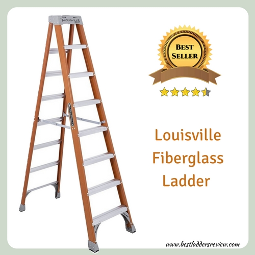 Louisville fiberglass best Step ladder for home use