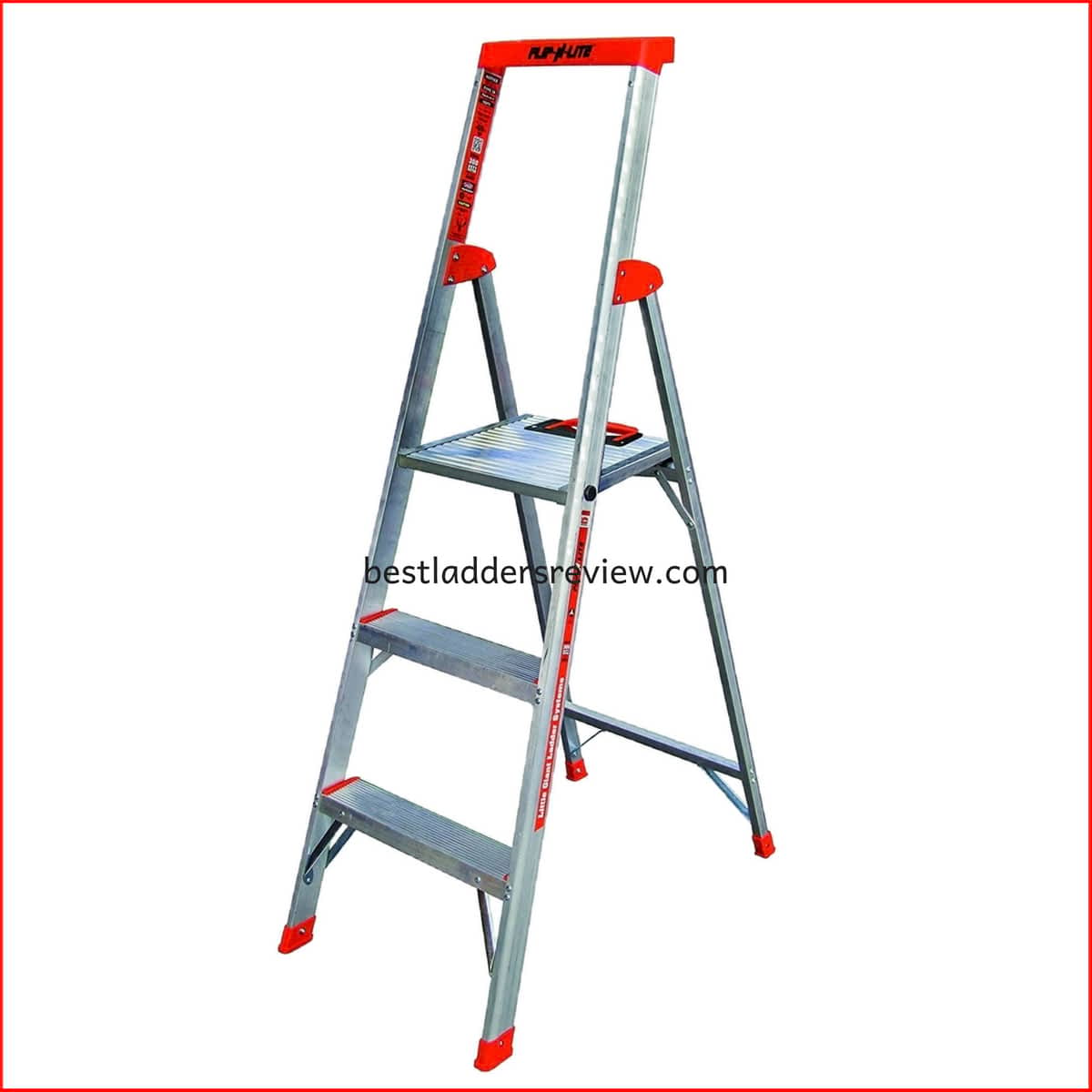 Flip-N-Lite 300-Pound Duty Rating best step ladders for home use