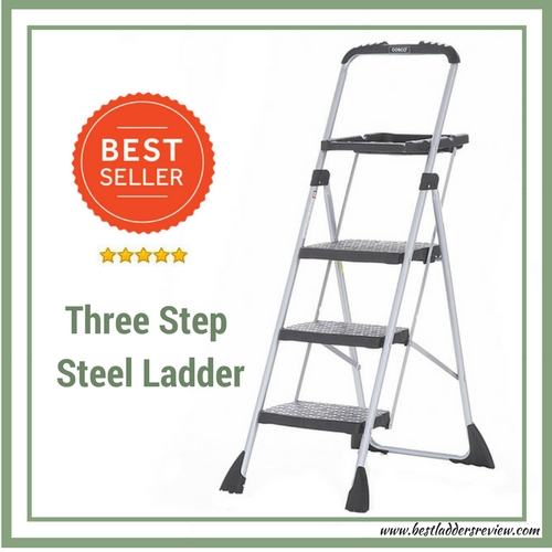 Cosco Three Step Max Steel Work Platform best Step ladder for home use
