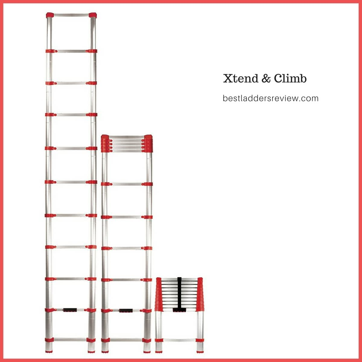 xtend & climb best telescoping ladders