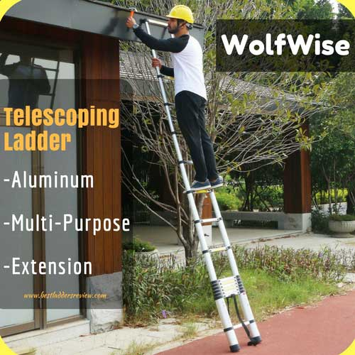 WolfWise 12.5ft Best Telescoping Ladder Review