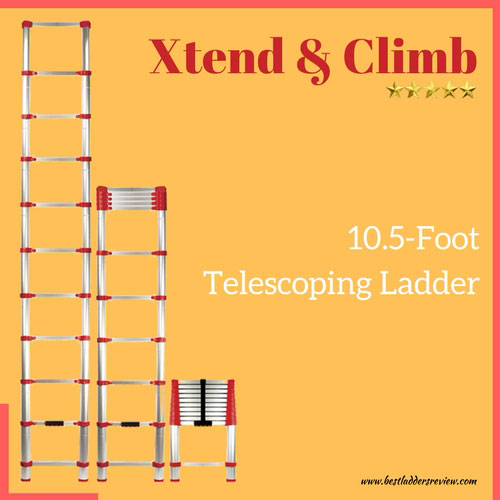 Xtend & Climb 10.5ft Aluminum Best Telescoping Ladder Review