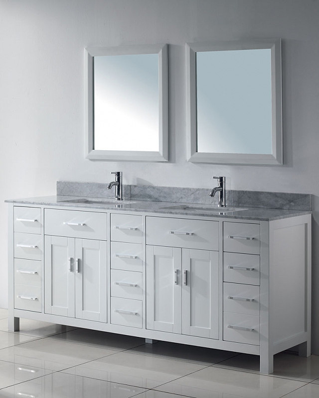 75 inches Double Sink Bathroom Vanity