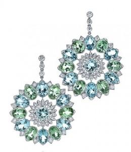 Amazing Tiffany tourmaline earrings