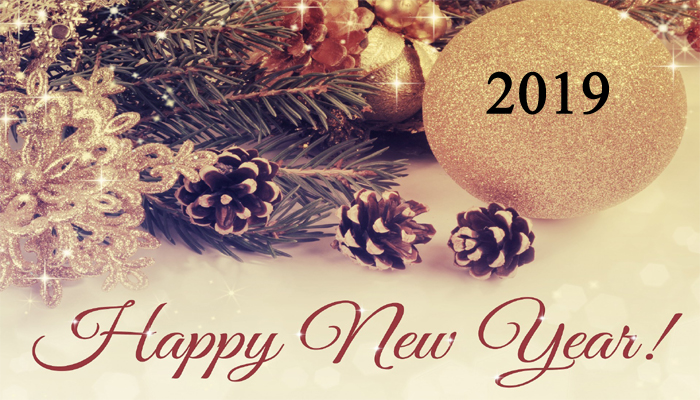 Happy New Year HD Images 2019