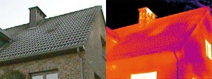 Thermal Imaging technology missing insulation roof and walls