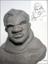 Sculpt Sketch Mark of Kri by ShapeStrong