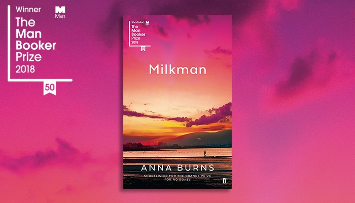 Milkman by Anna Burns book cover