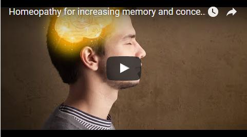 Homeopathy to increase memory power