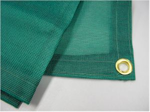 l 10x10 Green mesh shade screen