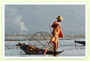 Fishermen in the Inle Lake