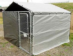 Dog Kennel Cover w/ Winter Bundle
