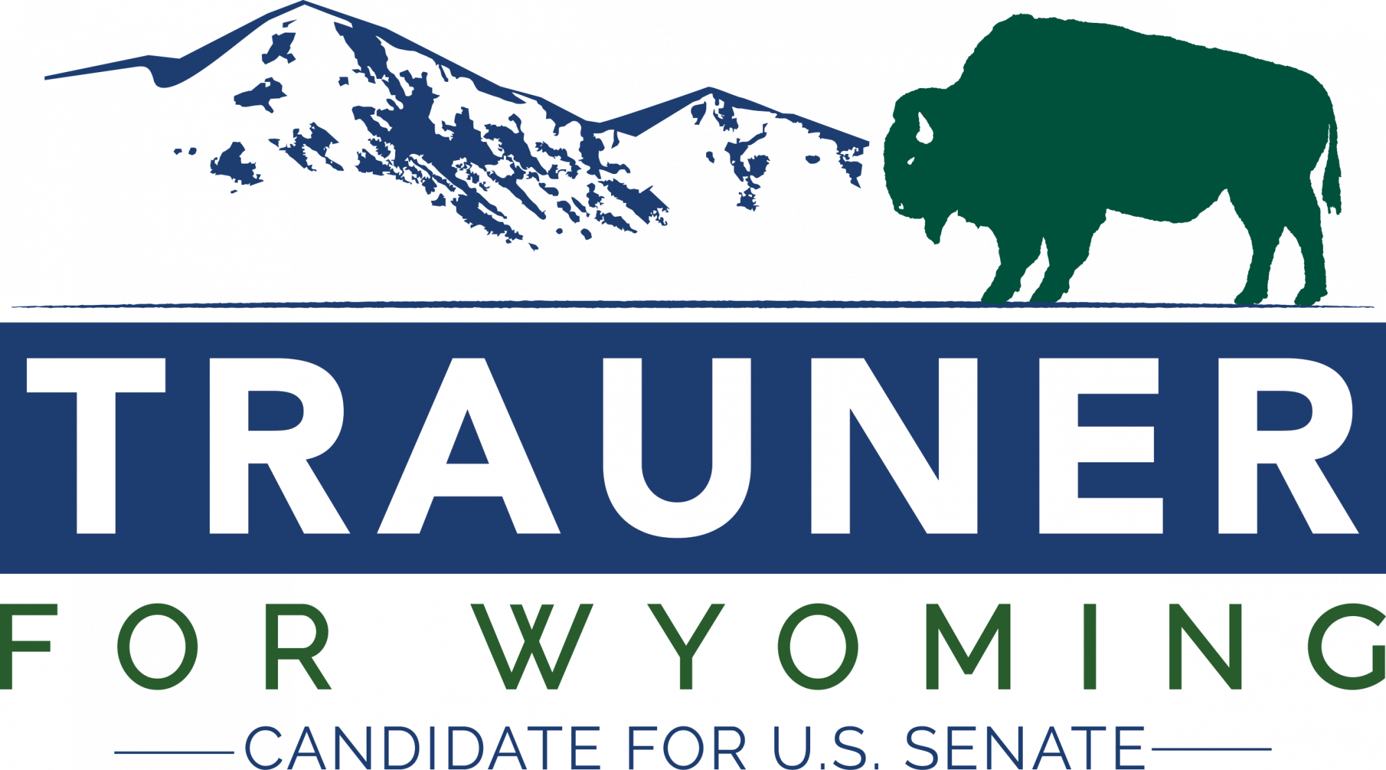 Logo for Gary Trauner for Wyoming