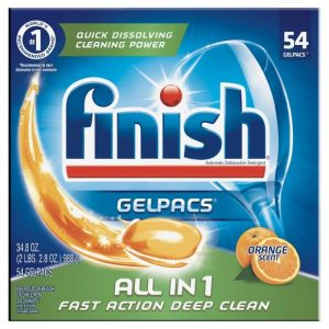 Finish Gelpacs Dishwasher Detergent,