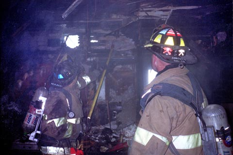 Two-Alarm Structure Fire