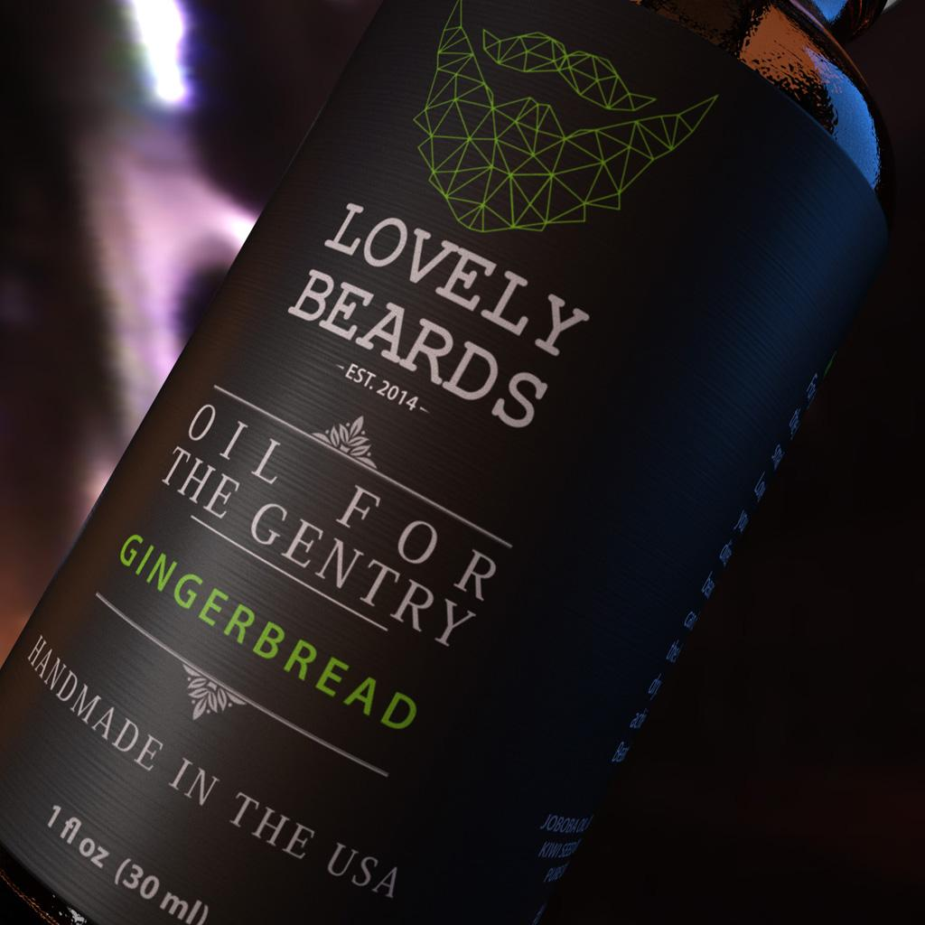 Gingerbread Beard Oil
