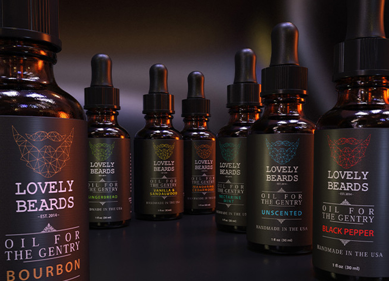 LovelyBeards Different Beard Oils
