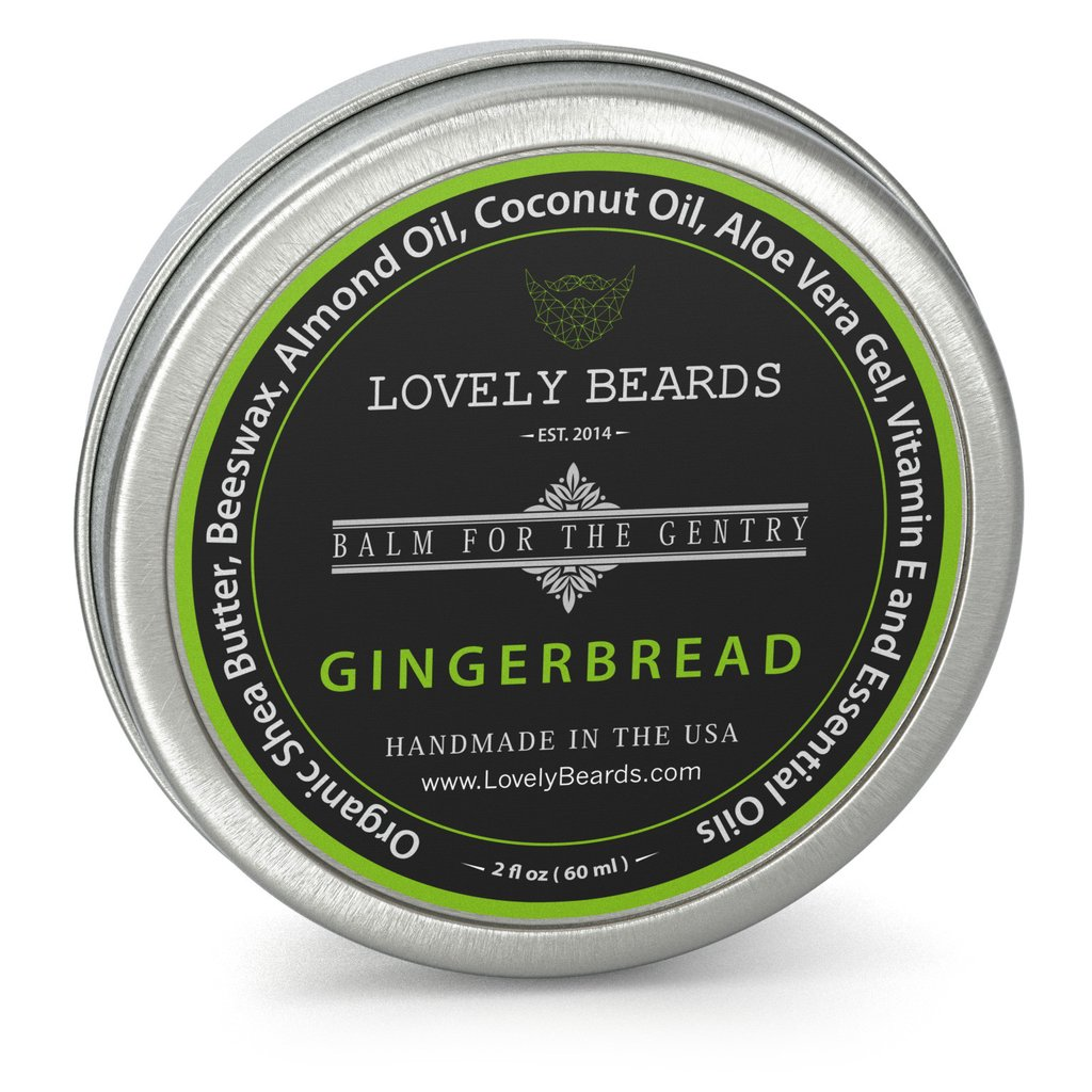 LovelyBeards Gingerbread Beard Balm