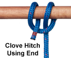 Clove Hitch (End)