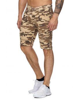 short jean cmouflage beige