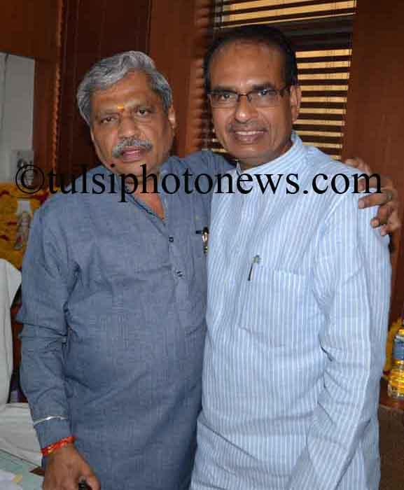 Shivraj singh Chouhan and Prabhash Jha