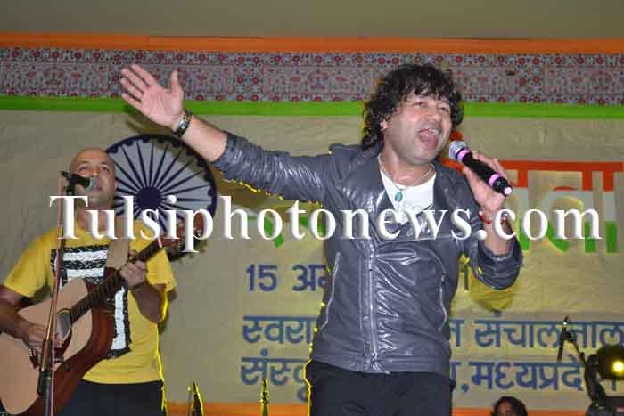 Kailash Kher in Bhopal (2)