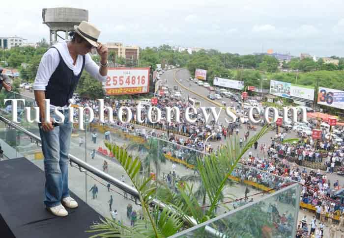 Shahrukh khan in Bhopal (5)