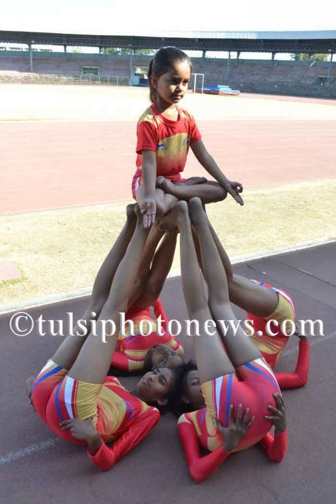 Malkhamb yoga in Bhopal 1